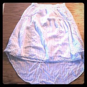 High low summer skirt